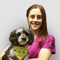 McLean Animal Hospital Professional Dog Groomer Aprille Fattore