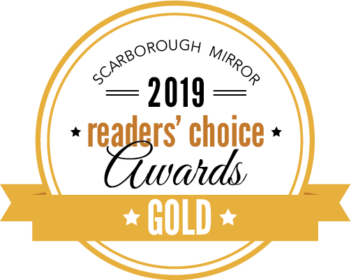 Scarborough Mirror 2019 Readers Choice Gold Award